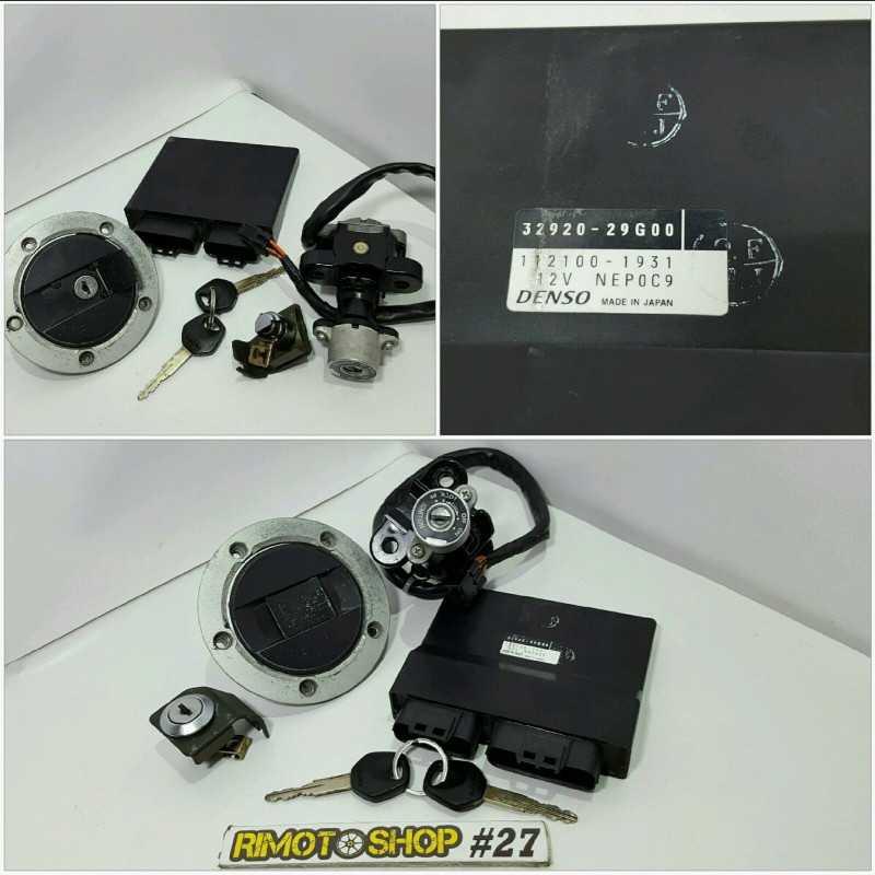 04 05 K4 K5 SUZUKI GSXR600 kit chiavi-AL4-5286.8L-Suzuki