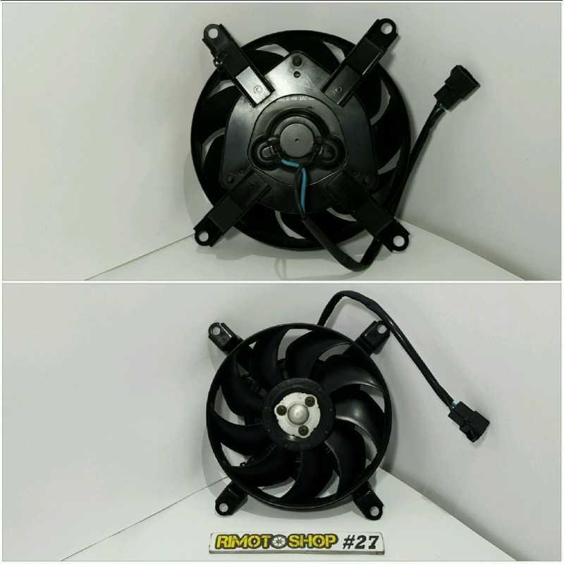 04 07 YAMAHA FZ6 ventola radiatore-VE3-4566.1C-Yamaha