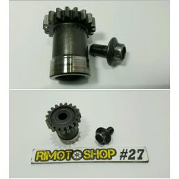 2001 03 SUZUKI RM125 ingranaggio pignone albero motore gear
