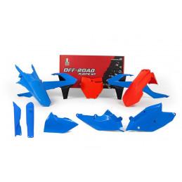 KTM Plastic Kit XC-F 250-350-450 2017-R-KITKTM-CL0-518-RTECH MX