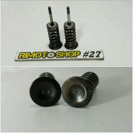 04 09 HONDA CRF 250R valvole scarico exhaust valves