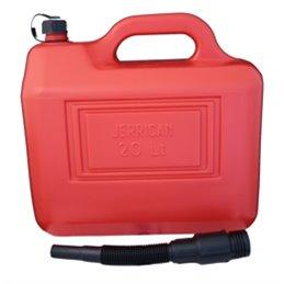 Big Star réservoir d'essence 20 litres couleur rouge