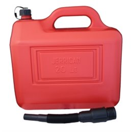 tanica Big Star benzina 20 litri colore rosso-7AV1159--Big star