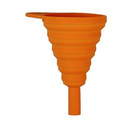 Entonnoir Riolo pour huile moteur orange extensible