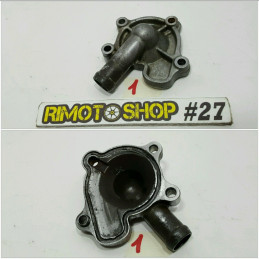 04 09 HONDA CRF250R carter pompa acqua water pump housing