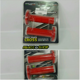 coppia manopole PROGRIP 794 rosse knobs motocross