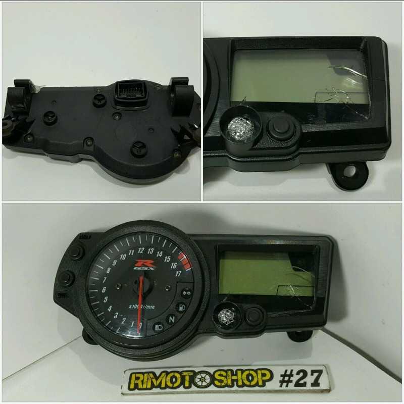 04 05 SUZUKI GSX R 600 contachilometri