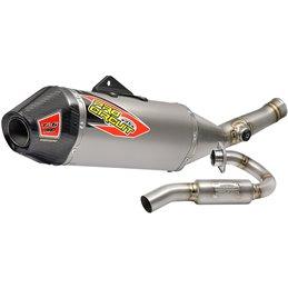 full Exhaust Kawasaki KX450F 17-18 Ti-6 Pro-0321745FP-Pro