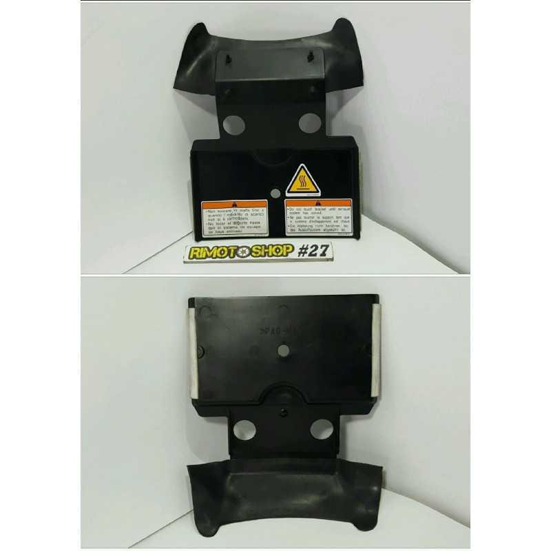 04 07 YAMAHA FZ6 plastica posteriore-AL6-5206.5L-Yamaha