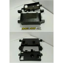 04 07 YAMAHA FZ6 plastique vano batteries--AL6-4256.6P-Yamaha