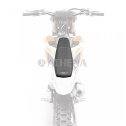 Seat cover Shark KTM EXC 125 2002-2010-SDV001S-Selle Dalla Valle