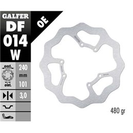 Disco freno Galfer Wave Honda CR 125 95-07