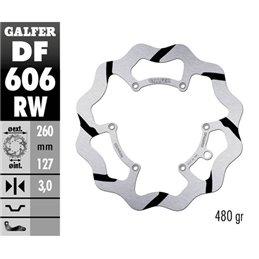 Disco freno Galfer Race KTM 400 EXC-F 00-11 anteriore-DF606RW-
