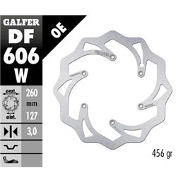 Disco freno Galfer Wave KTM 525 SX-F 03-07
