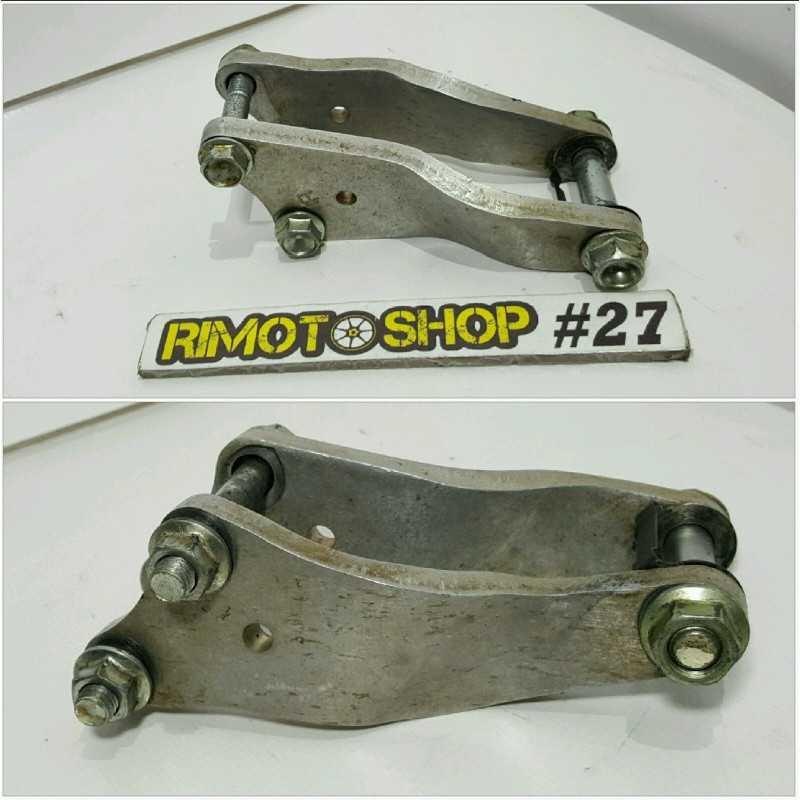 04 09 HONDA CRF 250R supporti motore engine