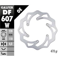 Disco freno Galfer Wave Husqvarna 250 TC 14-19
