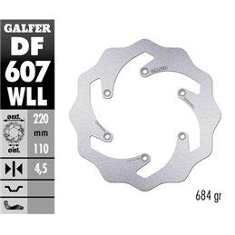 Disco freno Galfer Wave Husqvarna 450 FC 14-19 posteriore