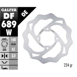 Disco freno Galfer Wave Husqvarna 65 TC 17-19