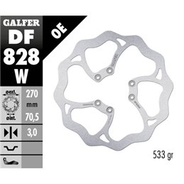 Disco freno Galfer Wave TM EN/MX 250 F 04-18