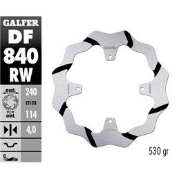 Disco freno Galfer Race TM EN/MX 125 15-18