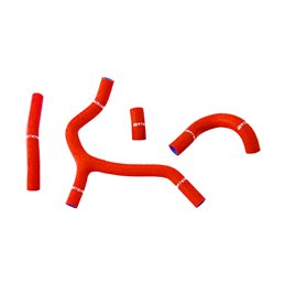 Tubi radiatore Honda CRF 450 R 09-12 rossi-DS25.0517R--NRTeam