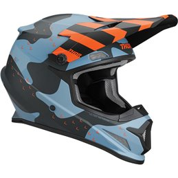 Casco Thor off road Sector MOSSER S9 Mate-0110-5S9mos