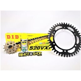 Kit rear sprockets front sprockets chain 520VX2 APRILIA 250 RS 96-