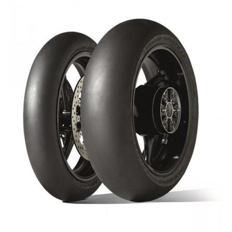 "Pneumatico gomma Anteriore GP RACER SLICK D212 DUNLOP 120/70 R 17"" - TL-0301-0696-DUNLOP"