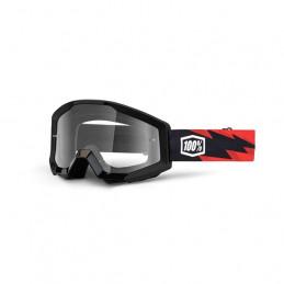 maschera occhiali cross MX GOOGLE 100 % STRATA SLASH