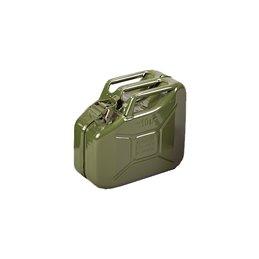 tanica in metallo omologata per carburanti Riolo 10 litri colore verde