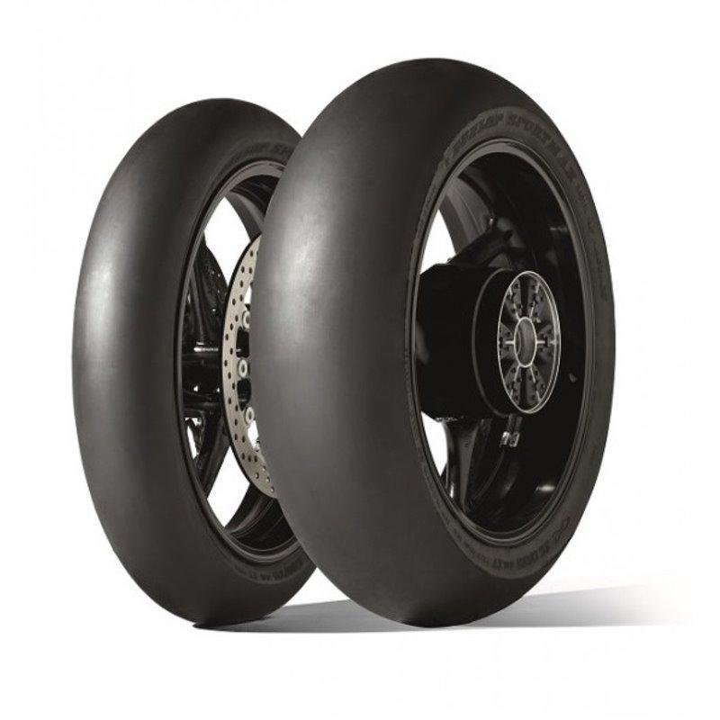 "Pneumatico gomma Posteriore GP RACER SLICK D212 DUNLOP 200/55 R 17"" E TL-0302-1153-DUNLOP"