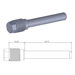 Perno ferma pastiglie anteriore GASGAS XC 200