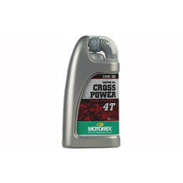 Motorex oil Power Cross 4 strokes synthetic 1 liter