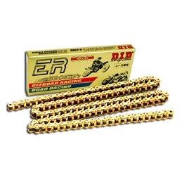 Catena DID moto passo 520ERV3 colore oro con giunto a rivetto (ZJ)