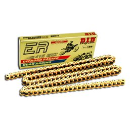 Motorcycle DID chain motoracing step 415ERZ colour gold with