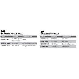 Chaîne de moto DID pas 520ERV3 couleur or avec joint riveté (ZJ)