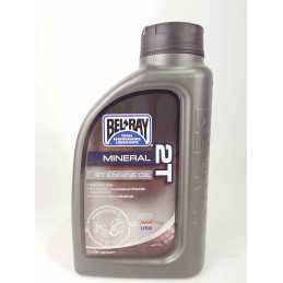 ⚙️Bel-Ray 2T Mineral Engine Oil 1L Bottle-05960101B--Bel-Ray