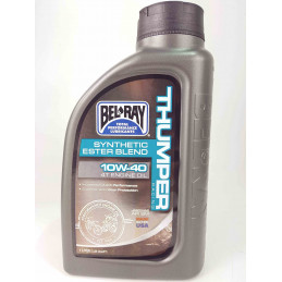 Bel-Ray 10W 40 Thumper Racing Synthetic Ester Blend 4T Olio motore