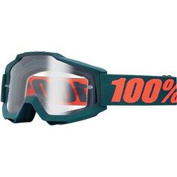 Maschera 100% accuri modello GUNMETAL OTG Lente a specchio argento-26011871-100% ricambi per moto