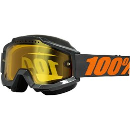 GOGGLE ACC SNOW GY/YL