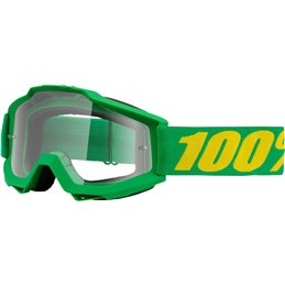 Maschera 100% accuri modello FOREST OFFROAD lente chiara-26011921-100% ricambi per moto