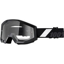 Maschera motocross modello Strata 100% GOLIATH OFFROAD lente chiara-26011986-100% ricambi per moto
