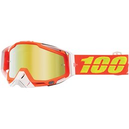 Maschera 100% modello Racecraft RAZMATAZ OFFROAD Lente a specchio