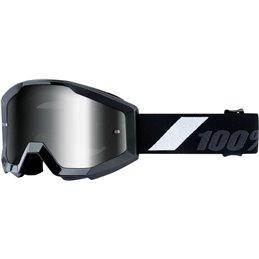 Maschera motocross modello Strata 100% Ragazzino GOLIATH OFFROAD Lente a specchio