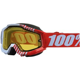 ACCURI CUPCOY SNOW GOGGLE W/ CLEAR YELLOW LENS