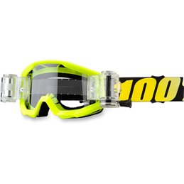 STRATA MUD JR NEON YELLOW SVS GOGGLE W/ CLEAR LENS
