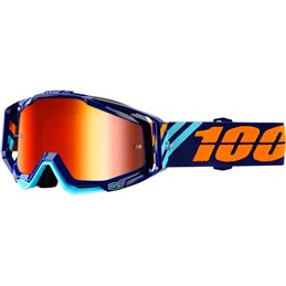 GOGGLE RC CALC/MIR RED