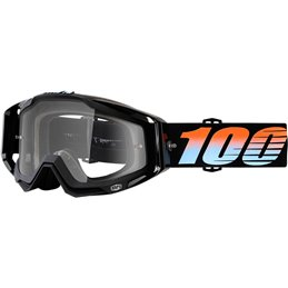 RACECRAFT STARLIGHT OFFROAD GOGGLE W/ CLEAR LENS