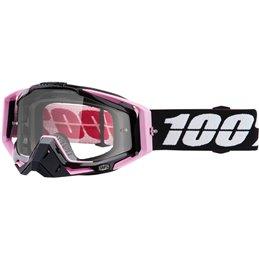 Maschera 100% modello Racecraft FLOYD OFFROAD lente chiara-26012477-100% ricambi per moto