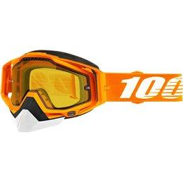 RiMoToShop|Goggle MX Snow 100% CRSH DL VNT YL-100% ricambi per moto